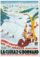 74. Gf. Sports D'Hiver Dans Les Aravis. LA CLUSAZ-GRAND-BORNAND. 10100 - La Clusaz