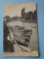 JOINVILLE Le PONT -- Embarcadère Et Vue Sur Le Petit-Bras - Elégante En 1er Plan - Canotage - Joinville Le Pont
