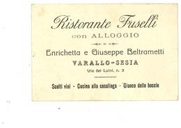 VALSESIA VARALLO RISTORANTE FUSELLI - Vercelli