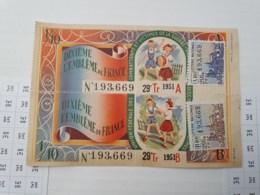 Billet Double De 1951 - Loterijbiljetten