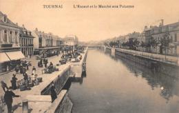 Tournai - L'Escaut Et Le Marché Aux Poissons - Tournai