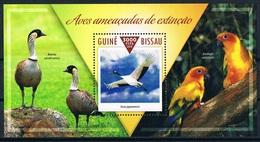 Bloc Sheet Oiseaux Birds Neuf MNH ** Guine Guinea Guinee Bissau 2015 - Oiseaux