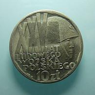 Poland 10 Zlotych 1968 - Polonia