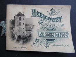 HERICOURT  ( 70 ) Livret Touristique De 12 Vues     Par HOCHSTETTLER  P - Dépliants Turistici