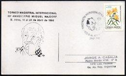 CHESS - ARGENTINA BUENOS AIRES 1990 - TORNEO MAGISTRAL INTERNACIONAL DE AJEDREZ - 80° ANIVERSARIO MIGUEL NAJDORF - Scacchi