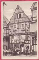 CPA ALLEMAGNE LIMBURG An Der LAHNb Gasthaus Zum BURGKELLER - Limburg