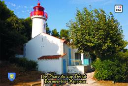 Set 6 Cartes Postales, Phares, Lighthouses Of Europe, France, Bormes-les-Mimosas, Le Phare Du Cap Bénat - Leuchttürme