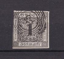 Baden - 1853 - Michel Nr. 5 - Gest. - 35 Euro - Baden