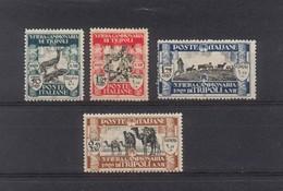 1640 - Libia Anno 1929 - III Fiera Di Tripoli (4 Valori) - Libië