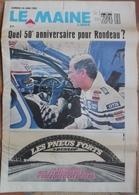 24 H Du Mans 1982. Quel 50° Anniversaire Pour Rondeau. - Desde 1950