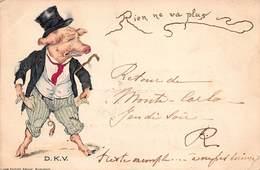 CPA Illustrée - RIEN NE VA PLUS D.K.V - 1900-1949