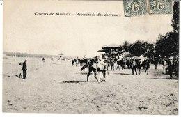 Allier Courses De MOULINS Promenade Des Chevaux (hippisme) - Moulins