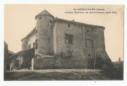 38 Isère St Appolinard Ancien Chateau De Montluisant Face Est - France