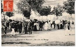 Allier Courses De MOULINS Un Coin Du Pesage - Moulins