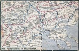 DAS KAMPFGEBIET IN MAZEDONIEN - N° 14 - Bulgaria