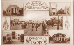 EXPOSITION DES ARTS DECORATIFS - SOUVENIR DE PARIS - Expositions