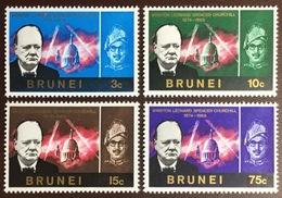 Brunei 1966 Churchill MNH - Brunei (...-1984)
