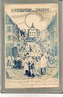 CPA - SAVERNE (67) - Carte Satyrique Entre Bourgeos Francophiles Et Pangermanistes Du Reich En 1913 - Saverne