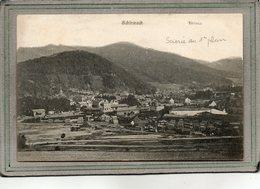 CPA - SCHIRMECK (67) - Aspect De La Grande Scierie Au 1er Plan En 1917 - Schirmeck