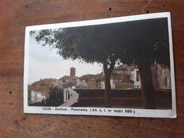 Cartolina Postale 1937, Cortona, Panorama - Arezzo