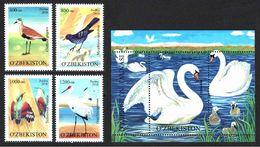 Uzbekistan 2010. Birds Of Uzbekistan.  MNH - Uzbekistán