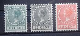 NEDERLAND  1924    Nr. 136 - 138       Postfris **     CW  225,00 - 1891-1948 (Wilhelmine)