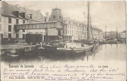 Leuven - Louvain - Souvenir De Louvain - Le Canal 1901 - Leuven