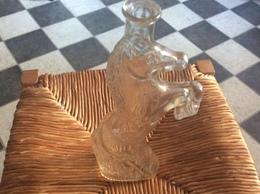 ANCIENNE BOUTEILLE EN VERRE  *Cheval Cabre  ALCOOL  Marque Kefla - Spiritueux