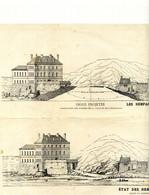 Ed. Corroyer - Les Remparts En 1884 - Etat Des Remparts En 1879 Avant La Construction De La Digue - Architecture