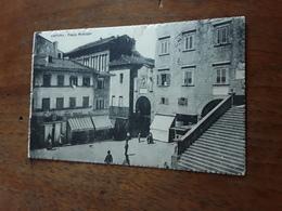 Cartolina Postale 1921, Cortona, Piazza Del Municipio - Arezzo