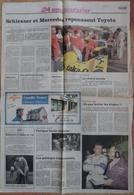 24 H Du Mans 1989. Lot De 14 Pages De Différents Journaux. - Desde 1950