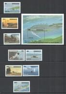 E1637 DOMINICA WORLD WAR II JAPANESE ATTACK PEARL HARBOR WWII 1BL+1SET MNH - WW2