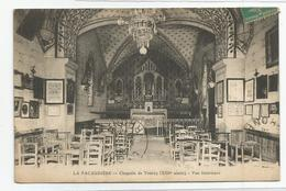 42 Loire La Pacaudière Chapelle De Tourzy Vue Intérieure 1914 - La Pacaudiere