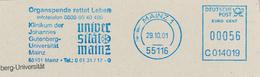 Universität Mainz Johannes Gutenberg 55116 Klinikum - Organspende Rettet Leben - Medizin
