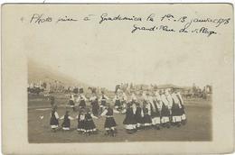 Serbie Gradesuica Carte Photo   Grande Place Du Village  Janvier 1918 - Serbie