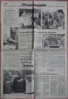 24 H Du Mans 1992. Lot De 20 Pages De Différents Journaux. - Desde 1950