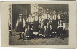 Serbie Gradesuica Carte Photo   Jeunes Serbes  1918 - Serbie