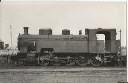 Photo - Locomotive à Identifier à Berck En 1948 - Thème Train - - Trains