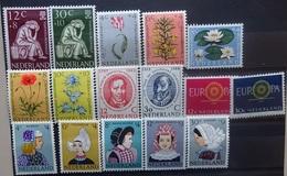 NEDERLAND  1960    Van Nr. 736  Tot  751    Zie Foto    Spoor Van Scharnier *    CW  26,00 - 1949-1980 (Juliana)