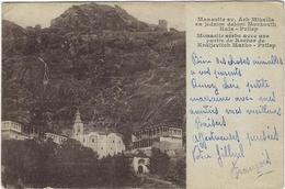 Serbie   Monastir Serbe Avec Une Partie De Rocher De Kraljevitch Marko-prilep - Serbie