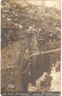 """Dépt 68 - HARTMANNSWILLER - Hartmannswillerkopf (""""VIEIL ARMAND"""") - CARTE-PHOTO Abris Ste Gotthard - Autres Communes"""
