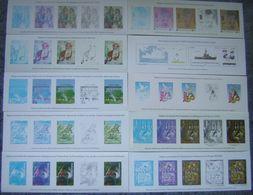 Document La Poste Lot De 19 Gravures Diverses Gommées, Neuves - Documents - Documenten Van De Post