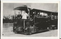 Photo - Tramway - Paris à Saint Germain En Laye - Voie Normale -  -  Port Marly En 1900 - Trains