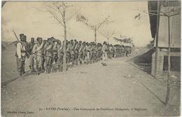 Soudan    Kayes Une Compagnie De Tirailleurs Senegalais  , 2 E Regiment - Sudan