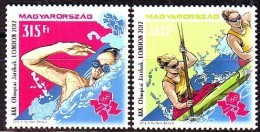 Hungary 2012 Summer Olympic Games London 2v MNH - Stamps