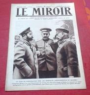 WW1 Le Miroir N°83 Juin 1915 Tsar Nicolas II Mont Saint Eloi Hébuterne,Saillant De Quennevière Pétain Carency - Boeken, Tijdschriften, Stripverhalen
