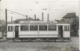 Photo - Tramway - Prototype Unique - Pub - Lessive - Grio - La Santé Du Linge - Gros Plan  - Photo Laurent - Trains