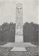 Hindisheim : Inaugruation Monument Aux Morts - Francia