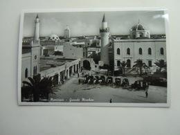 CPA - LIBYE LIBYA / LIBIA - BENGHAZI / BENGASI  -  AFRICA ITALIANA - MUNICIPIO GRANDE MOSCHEA - Libyen