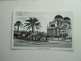 CPA - LIBYE LIBYA / LIBIA - BENGHAZI / BENGASI  -  AFRICA ITALIANA - LA CATTEDRALE - Libyen